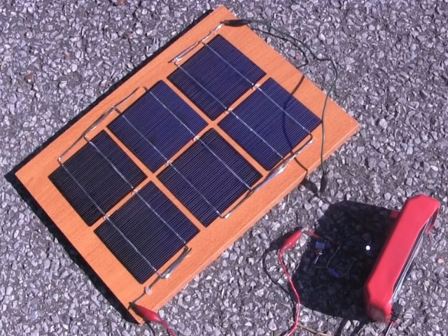 Diy homemade solar panel simple one for How to make a simple solar panel for kids